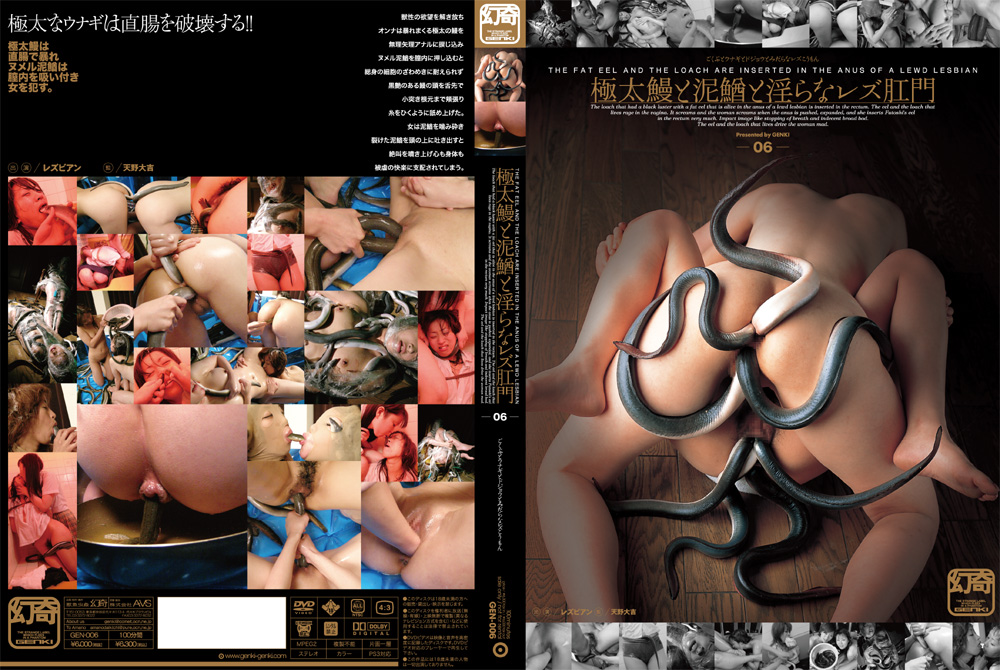 DGEN006 - The fat eel and the loach are inserted into the anus of a lewd lesbian