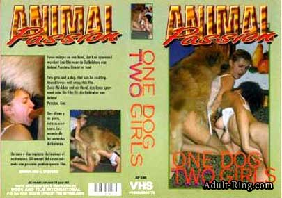 Animal Passion - ONE DOG TWO GIRLS poster