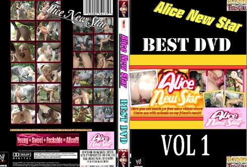 Alice New Star Best DVD Vol 1 poster