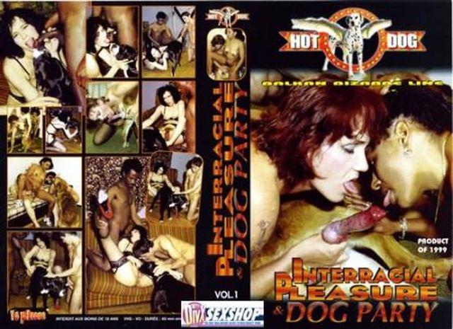 Hot Dog – Interracial Pleasure Dog Party