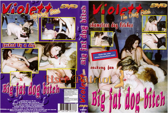 Violett - Big Fat Dog Bitch poster