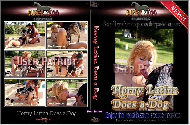 Super Zoo – Horny Latina Does a Dog