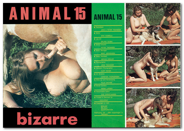 Animal Bizarre 15 - Vintage Zoo Magazines poster