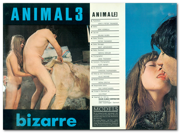 Animal Bizarre 3 - Vintage Zoo Magazines poster