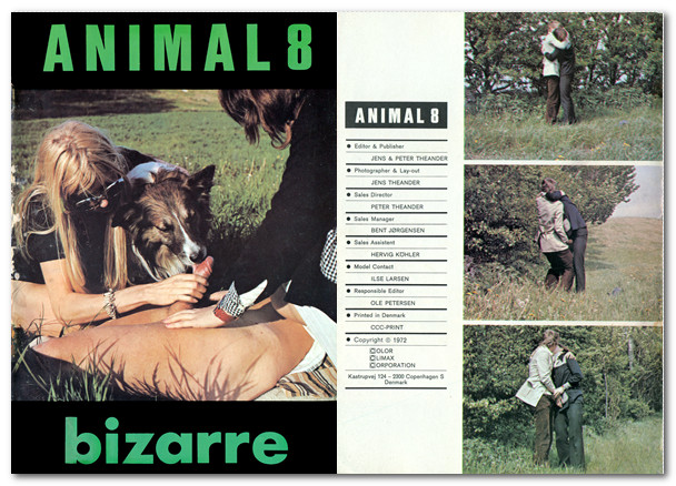 Animal Bizarre 8 - Vintage Zoo Magazines poster