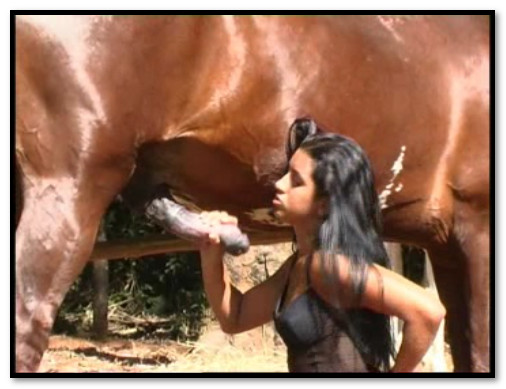 Latifa's First Time Anal With A Horse