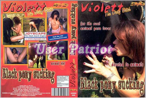 Violett – Black Pony Sucking