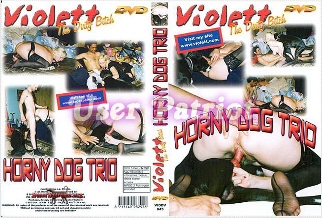 Violett – Horny Dog Trio