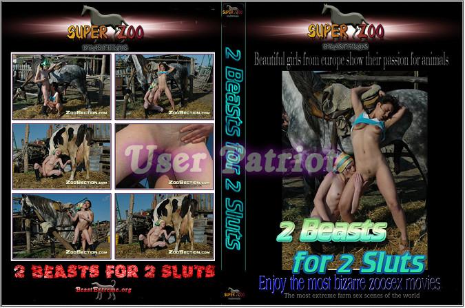 Super Zoo - 2 Beasts for 2 Sluts poster