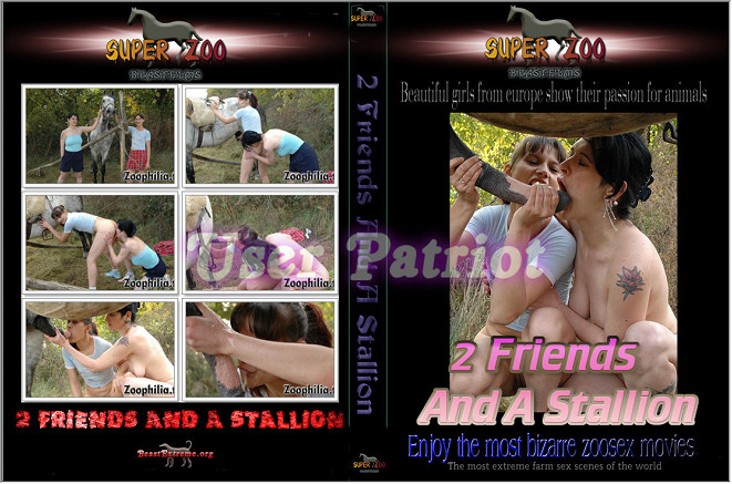 Super Zoo - 2 friends and a stallion poster