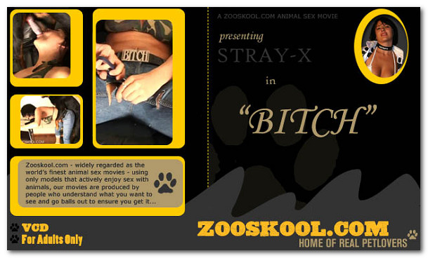 Zooskool - Bitch poster