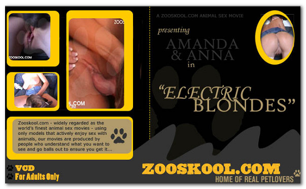 Zooskool - Electric Blondes poster