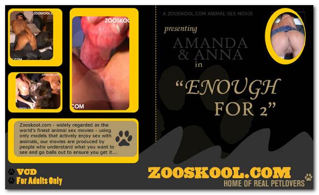 Zooskool – Enough For 2