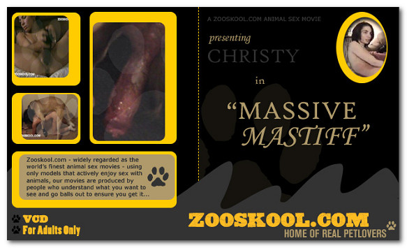 Zooskool – Massive Mastiff