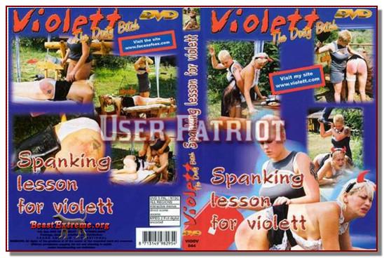 Violett – SPANKING LESSONS FOR VIOLETT