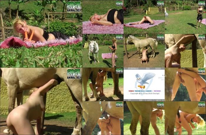 AnimalSexFun Horse Zoosex 12