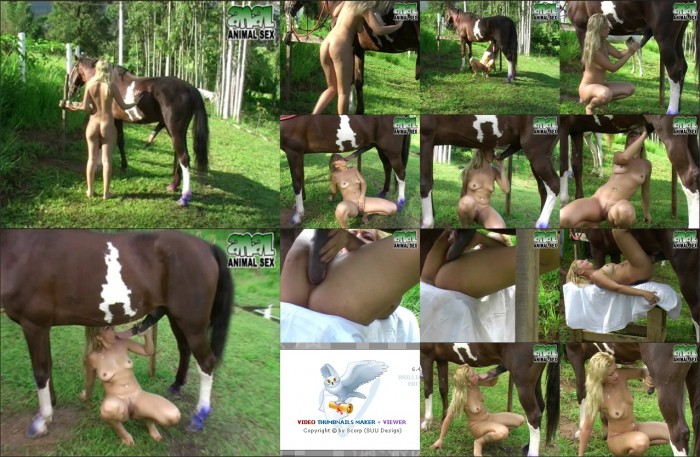 AnimalSexFun Horse Zoosex 13