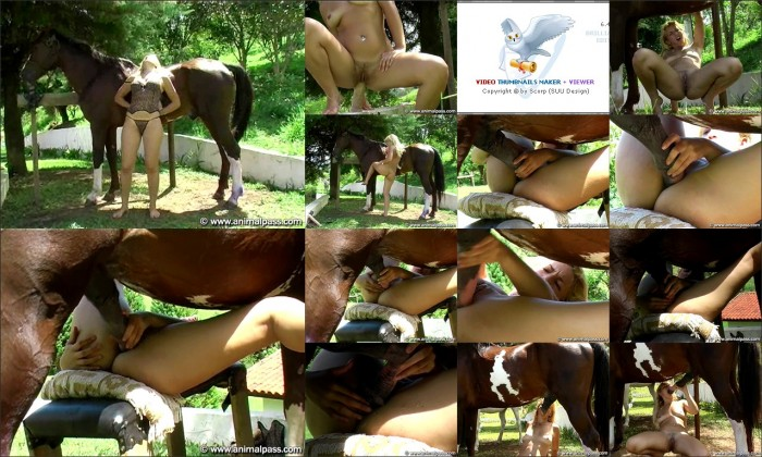 AnimalSexFun Horse Zoosex 21
