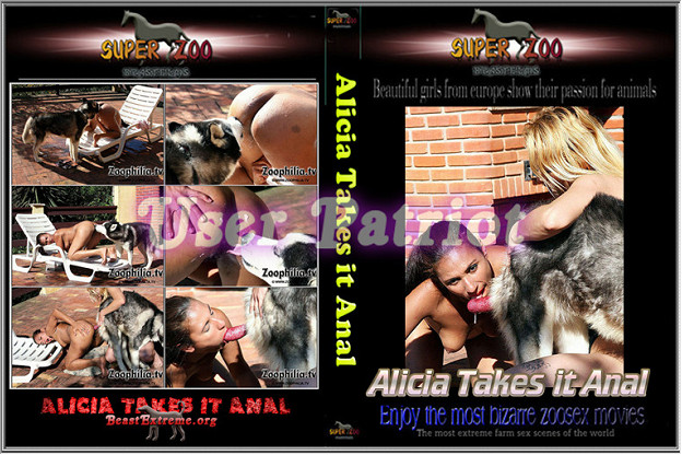 Super Zoo – Alicia Takes it ANAL