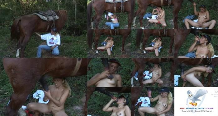 AnimalSexFun Horse Zoosex 39