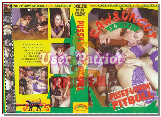 Pussy loving pitbull