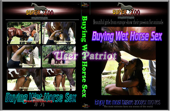 Super Zoo – Buying Wet Horse Sex