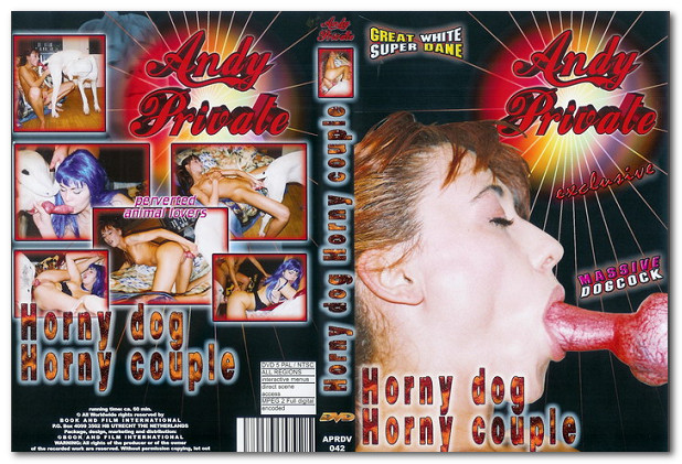Andy Private - Horny dog Horny couple poster
