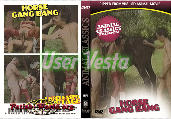 Animal Classics - Horse Gang Bang poster