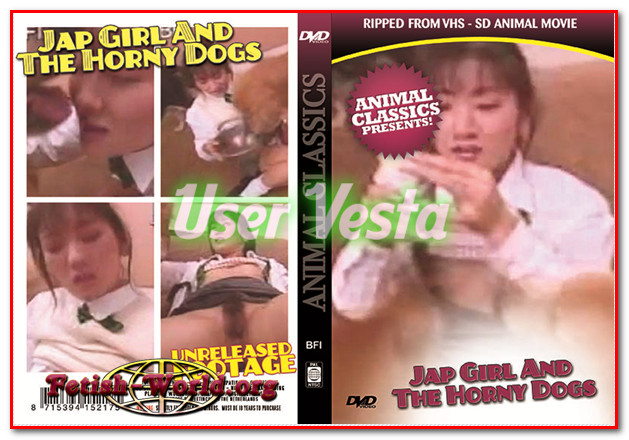 Animal Classics - JAP GIRL AND THE HORNY DOGS poster