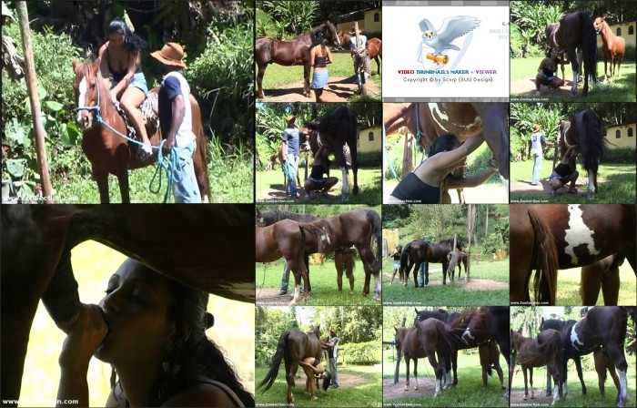 AnimalSexFun Horse Zoosex 155