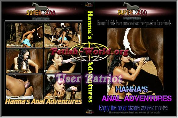 Super Zoo – Hanna's Anal Adventures