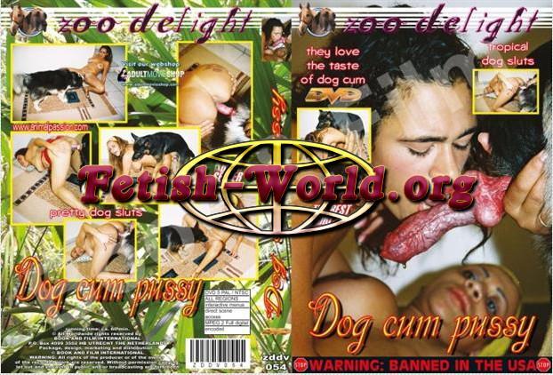 Zoo Delight – Dog Cum Pussy