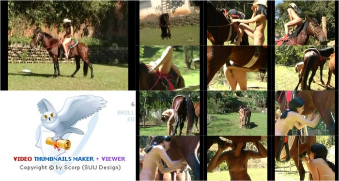 AnimalSexFun Horse Zoosex 227