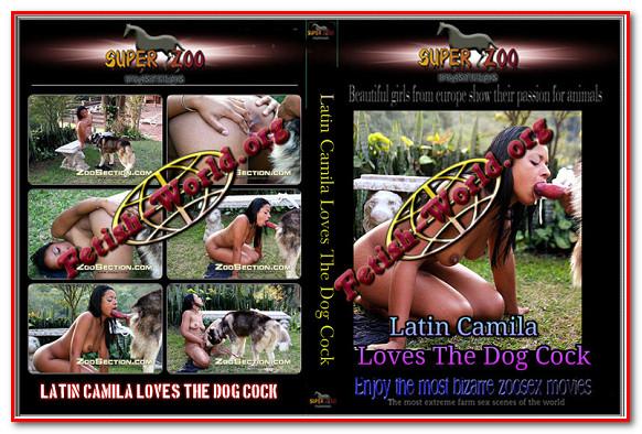 Super Zoo – Latin Camila Loves The Dog Cock