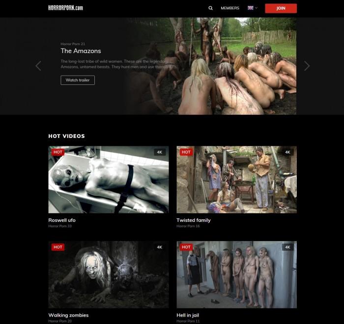 HorrorPorn Porno Pack – all 40 videos (Full SiteRip)
