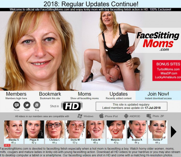 FaceSittingMoms Porno Pack – all 80 videos (Full SiteRip)