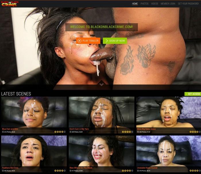 BlackOnBlackCrime Porno Pack – all 34 videos (Full SiteRip)
