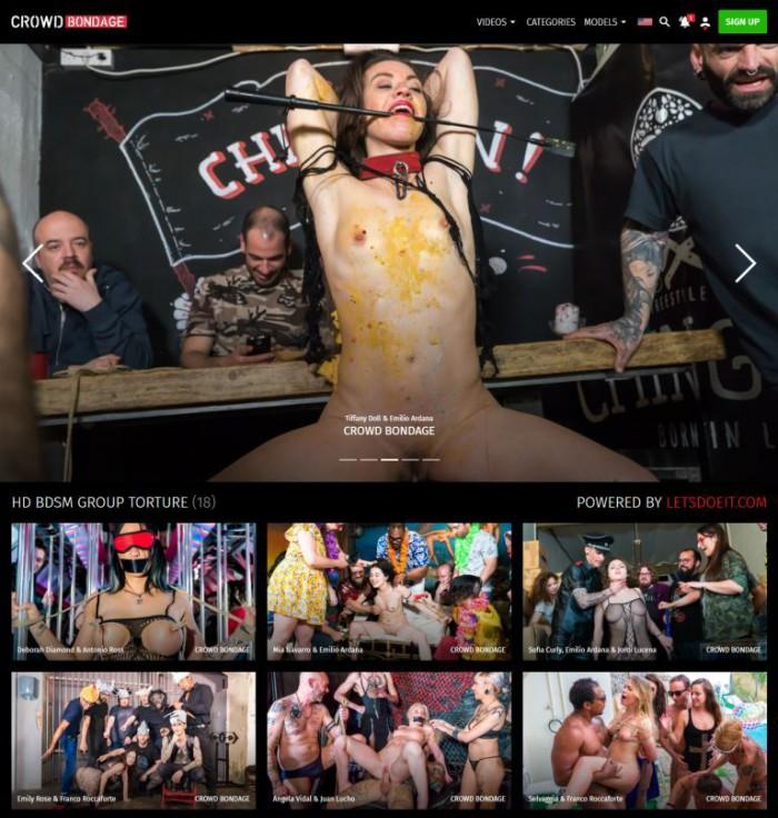 CrowdBondage Porno Pack – all 26 videos (Full SiteRip)