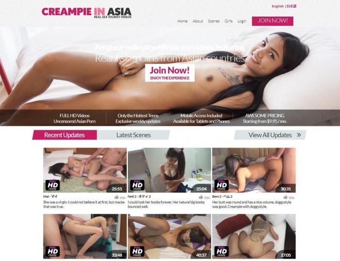 CreampieInAsia Porno Pack – all 72 videos (Full SiteRip)