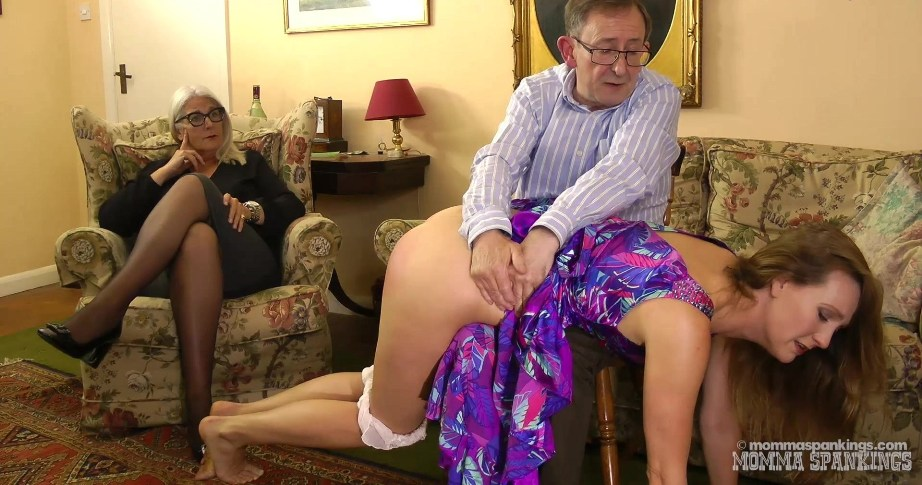 Mommy and Daddy Spank Jessica clip 02 poster