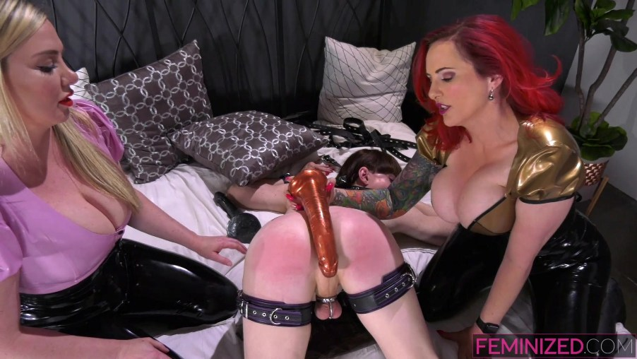 Natalie Mars domination from Mz Berlin and Lexi Sindel poster
