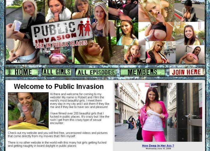 PublicInvasion Porno Pack – all 150 videos (Full SiteRip)